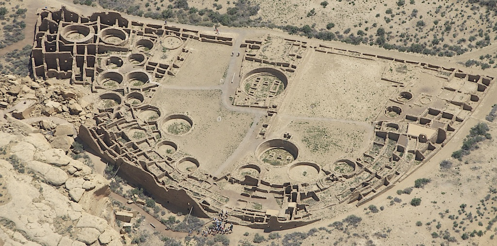 Chaco Culture National Historical Park via Wikipedia