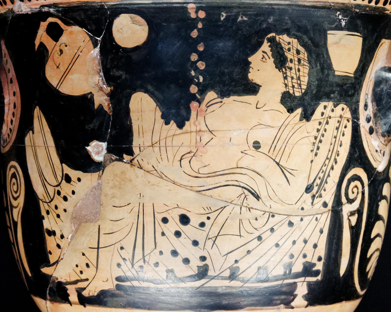 Golden shower in greek mythology