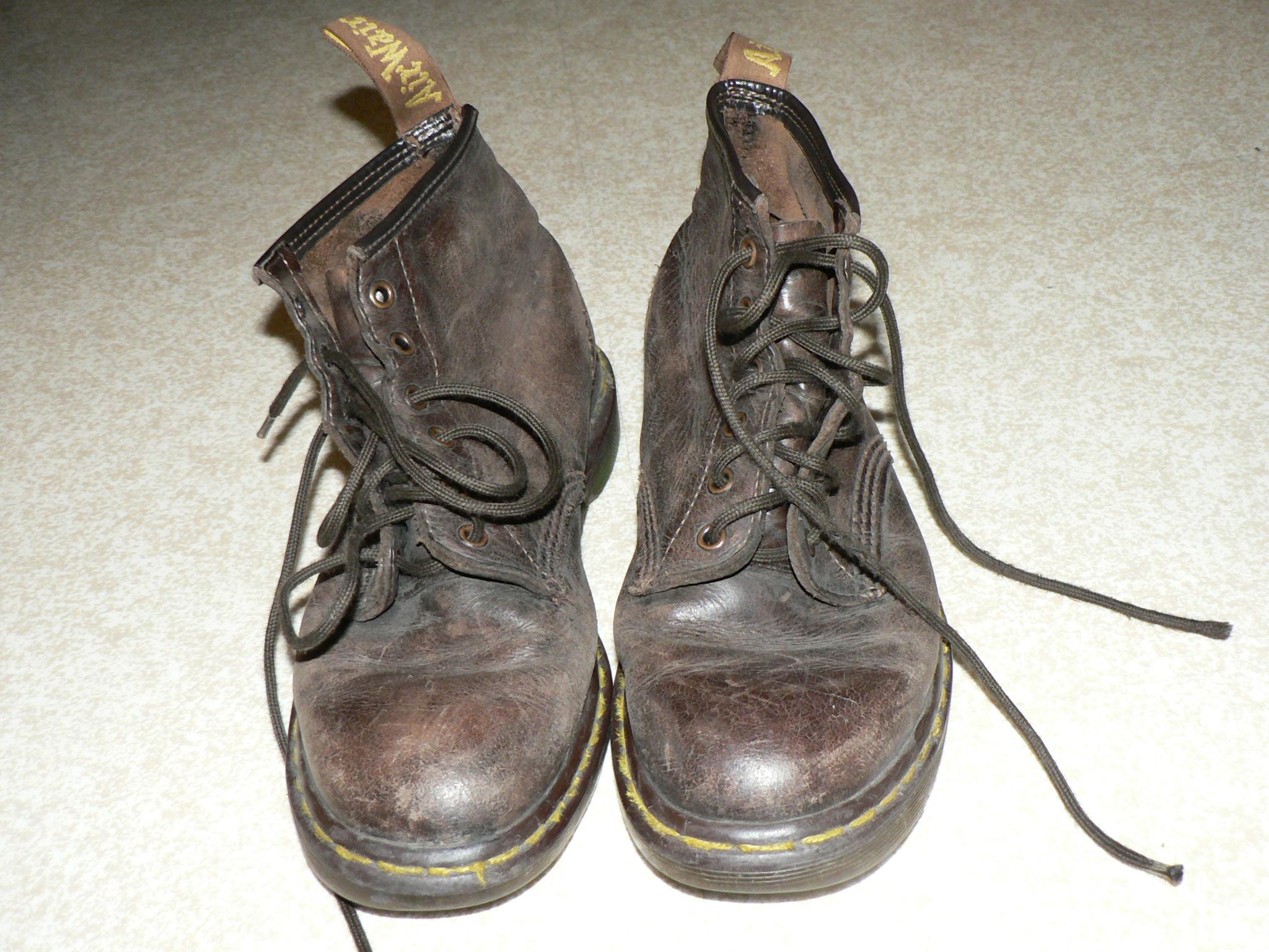 Vintage Dr Martens  Black Mary Jane T Bar Shoes