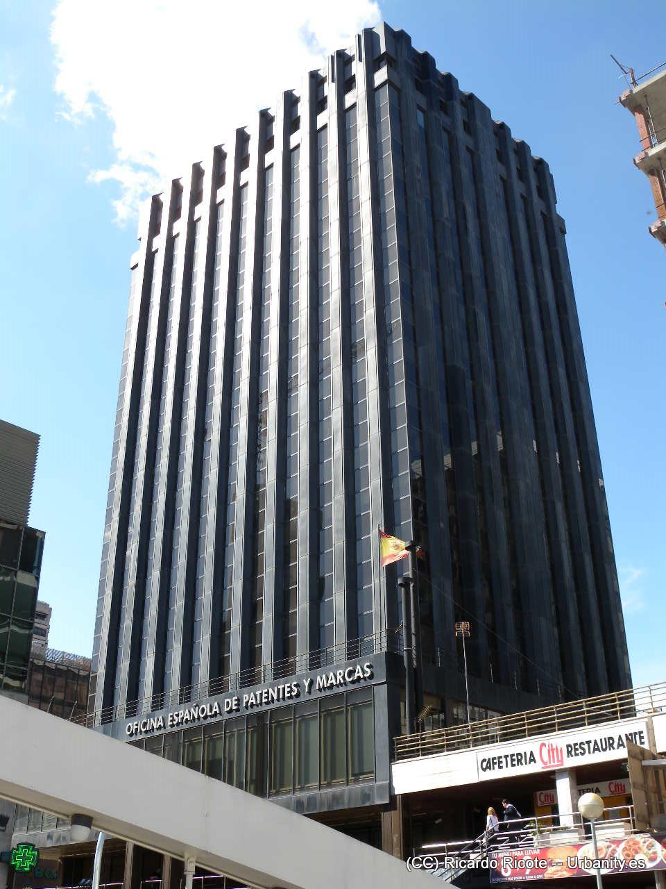 Archivo edificio oepm azca paseo de la - Oficina patentes y marcas ...