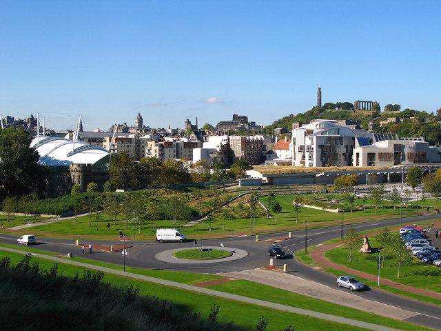 Edinburgh from Holyrood Park - geograph.org.uk - 572221