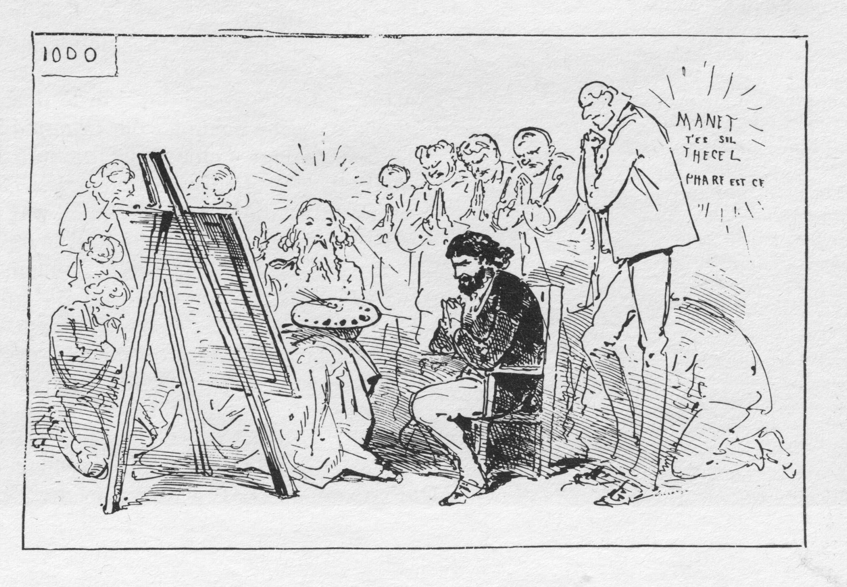 File:Fantin-Latour Un atelier aux Batignolles zeitgenössische ...