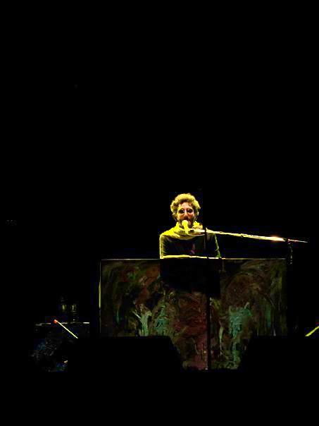 Fito Páez en el Festival de las Almas (2010), en México.