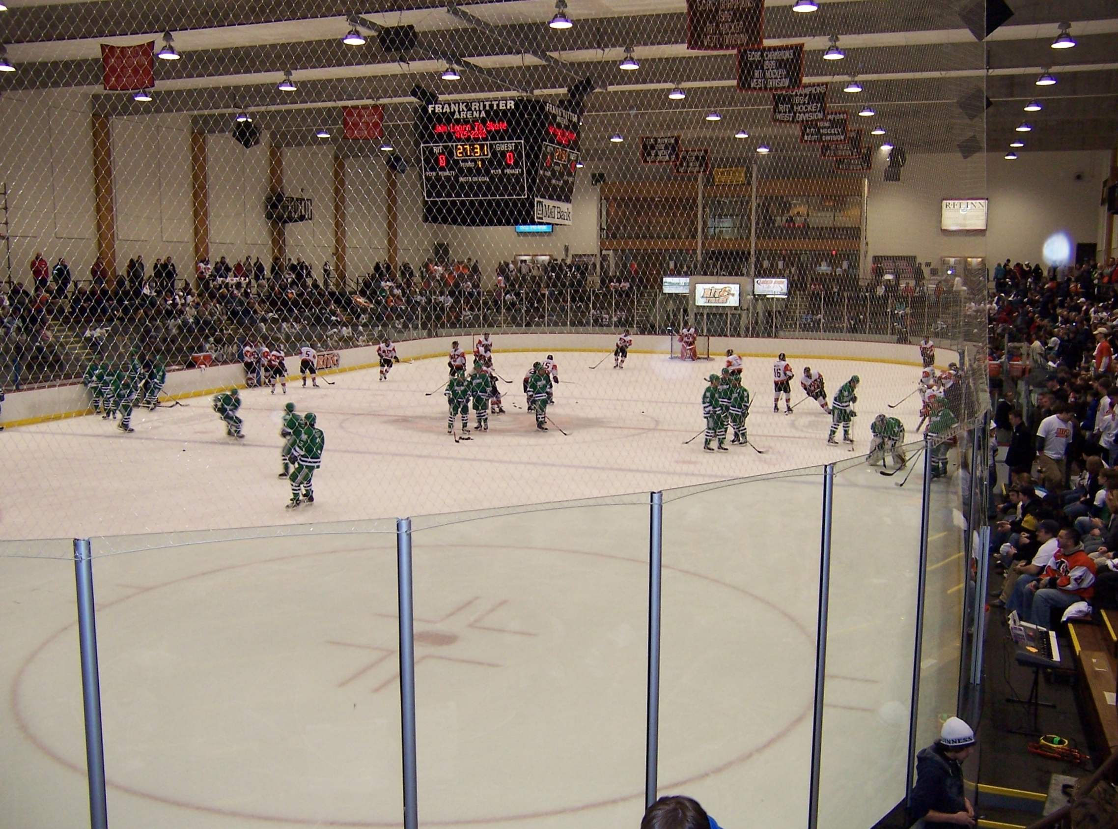 Fichier Frank Ritter Memorial Ice Arena Jpg Wikip 233 Dia