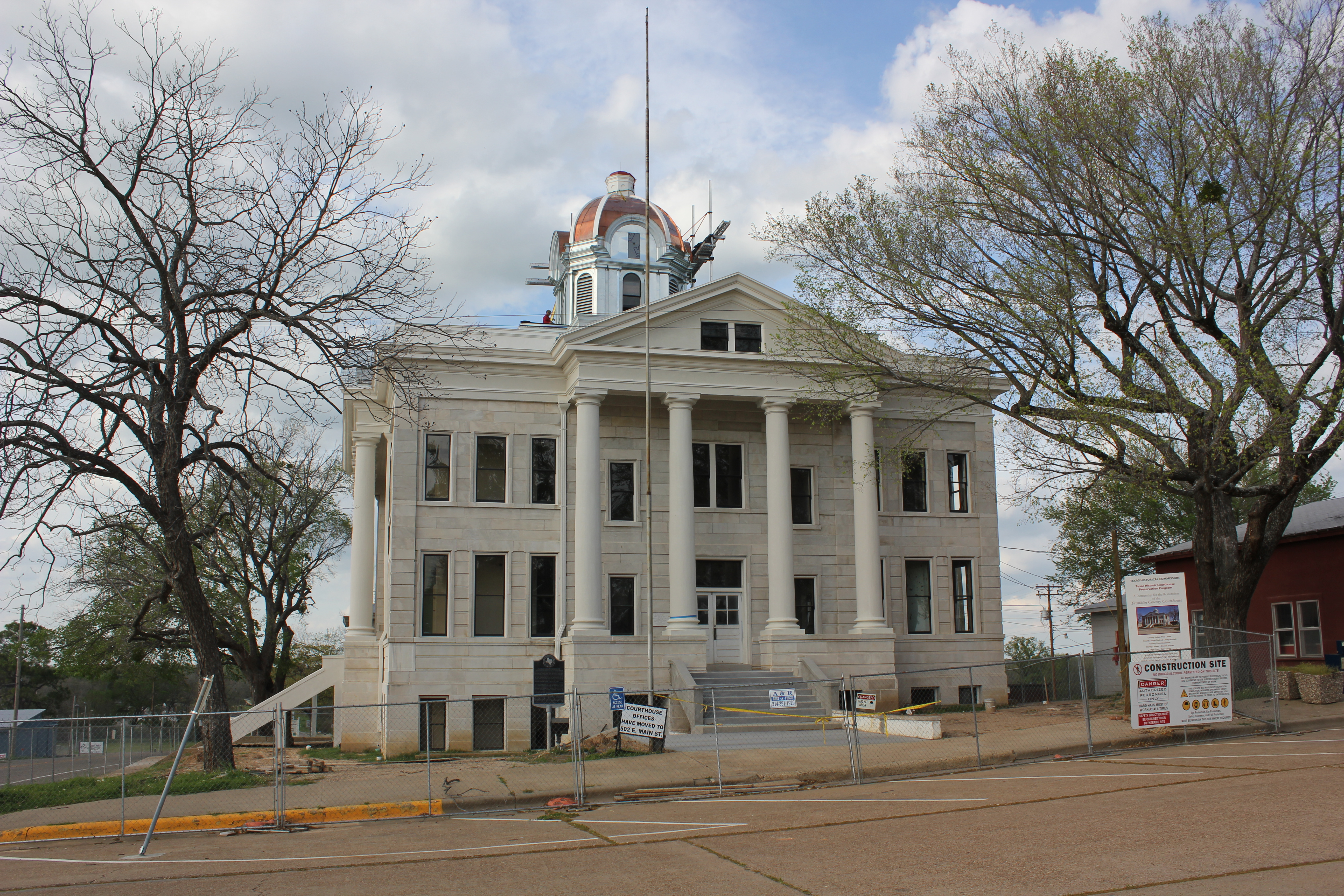 File:Franklin County Courthouse, Mt.Vernon, Texas ...