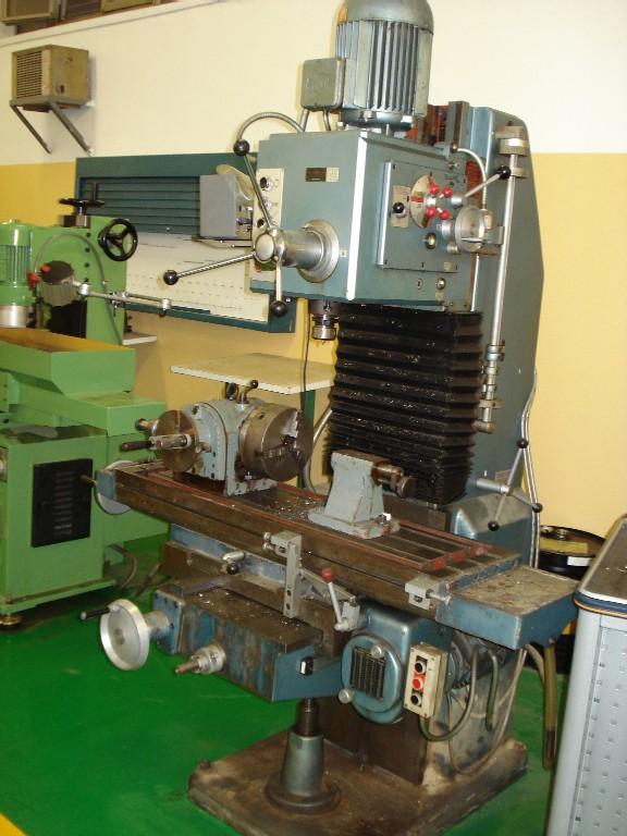Maquinas herramientas la fresadora funcionamiento de for Mesa para fresadora