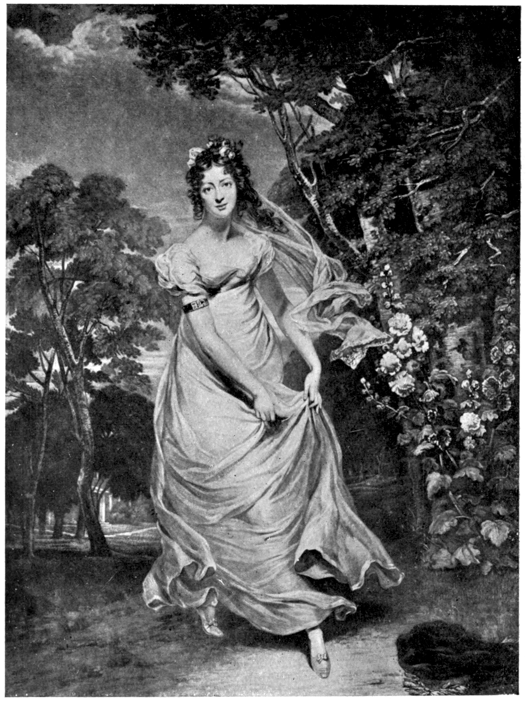 Regency actress Maria Foote