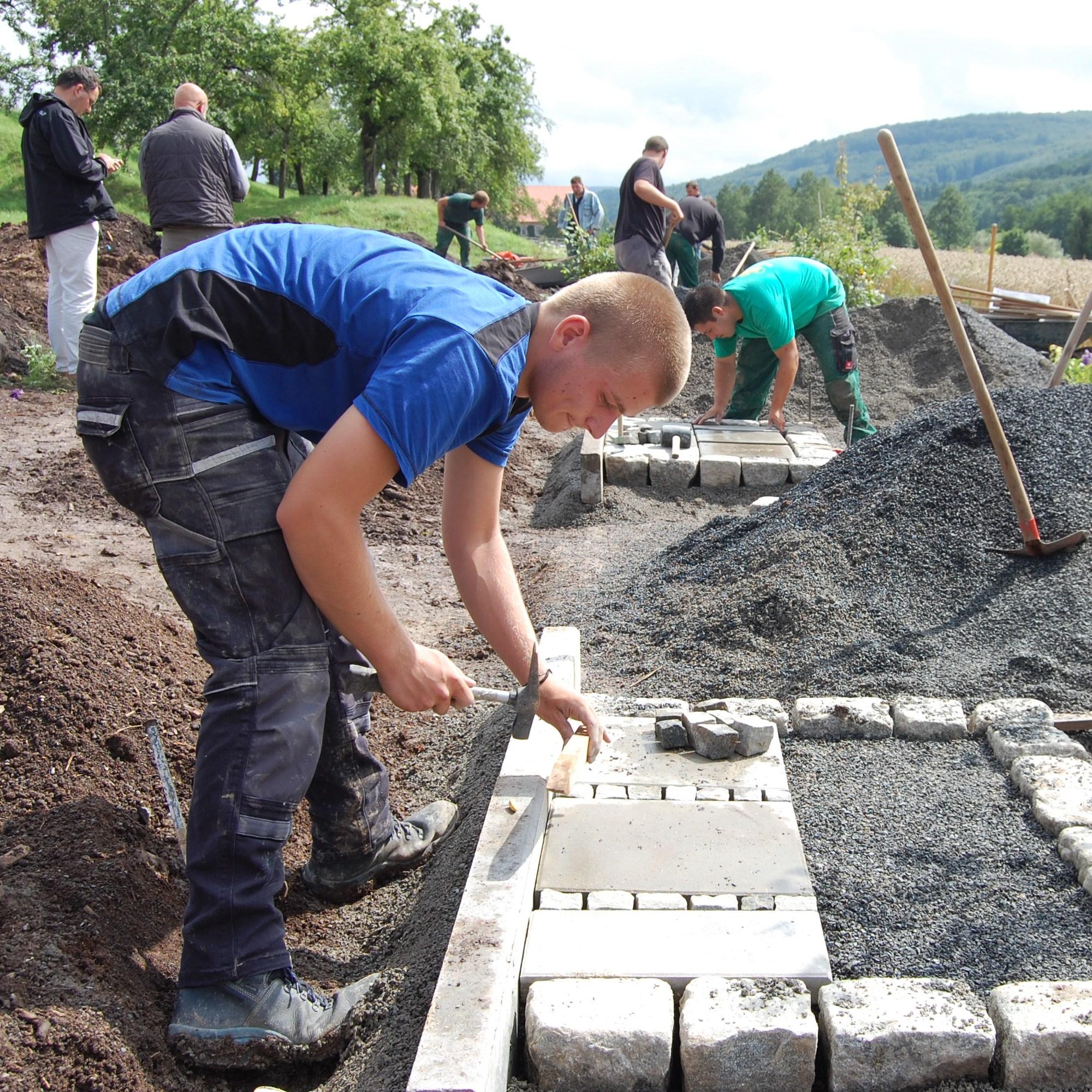 garten- und landschaftsbau – wikipedia, Garten und bauen
