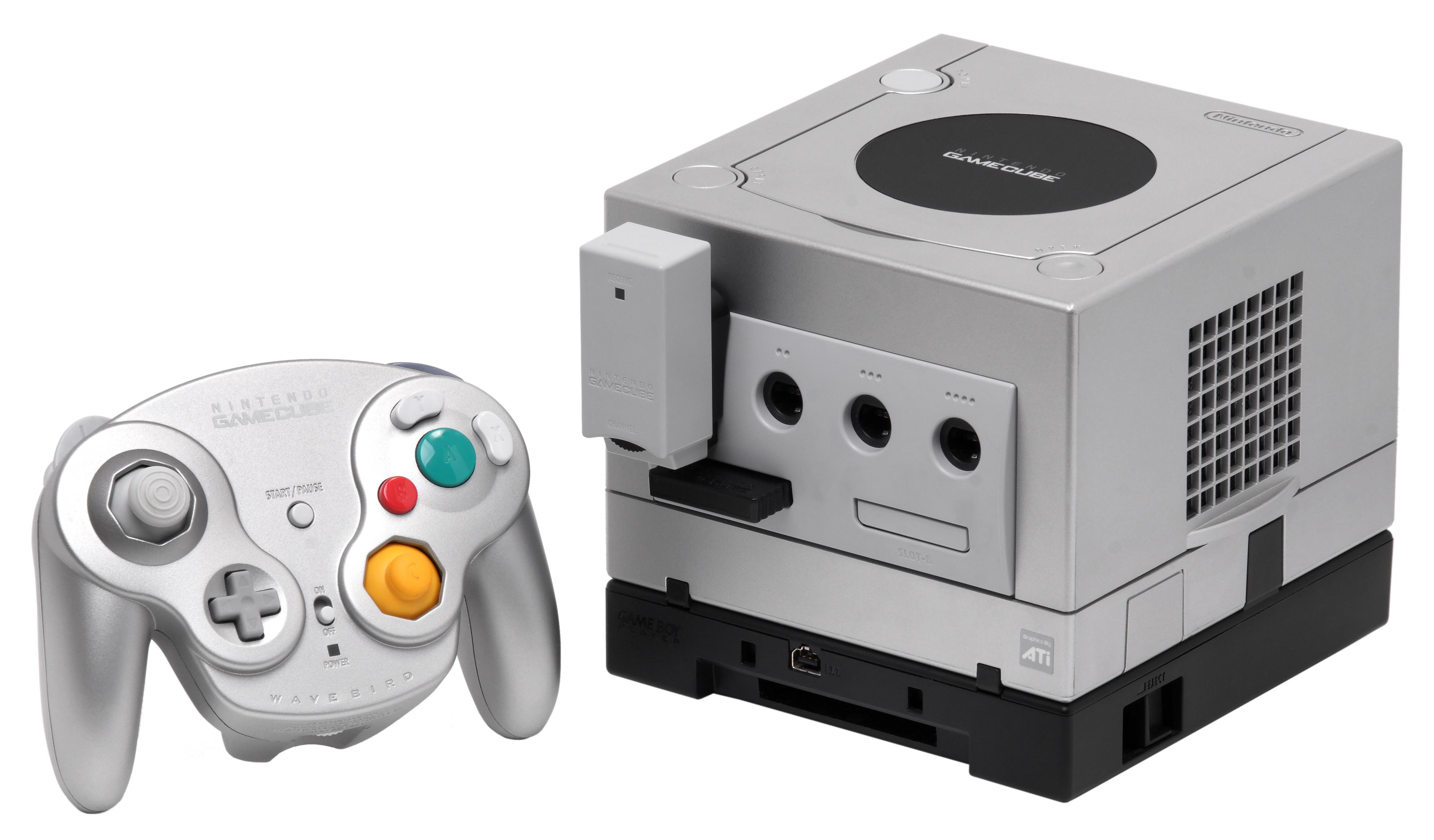GameCube con GameBoy Player