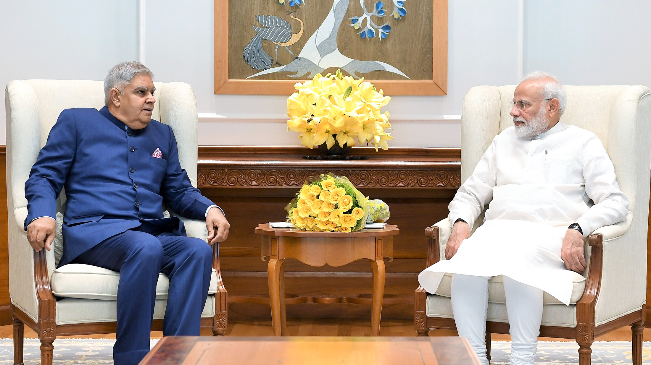 File:Governor of West Bengal Jagdeep Dhankhar with Prime Minister of India Narendra  Modi.jpg - Wikimedia Commons