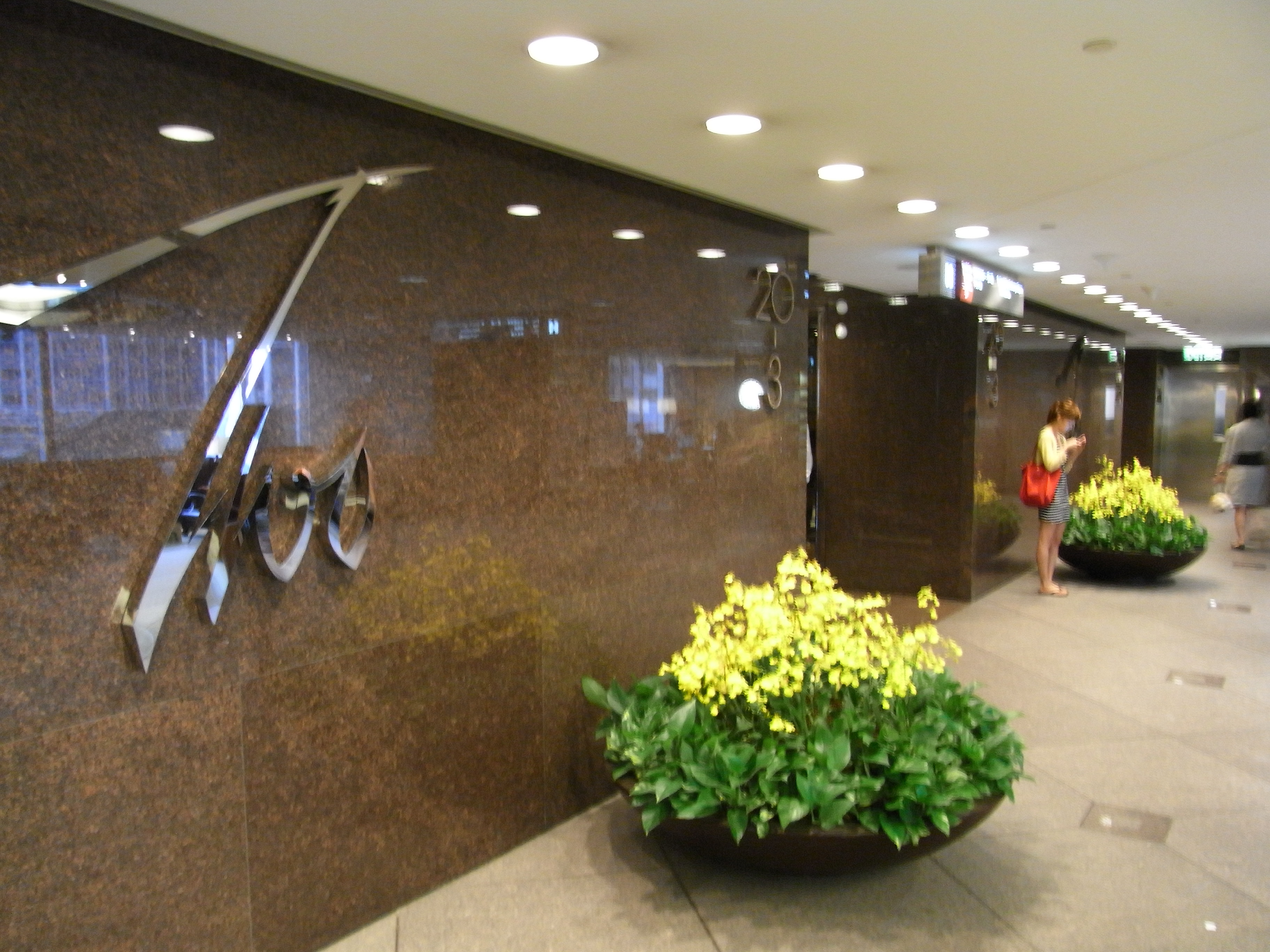 File:HK Central 中環 交易廣場 02 Exchange Square lobby hall visitor on