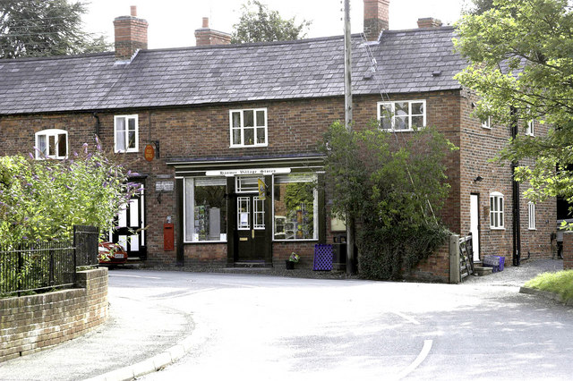 Hanmer Village Stores and Post Office - geograph.org.uk - 225394