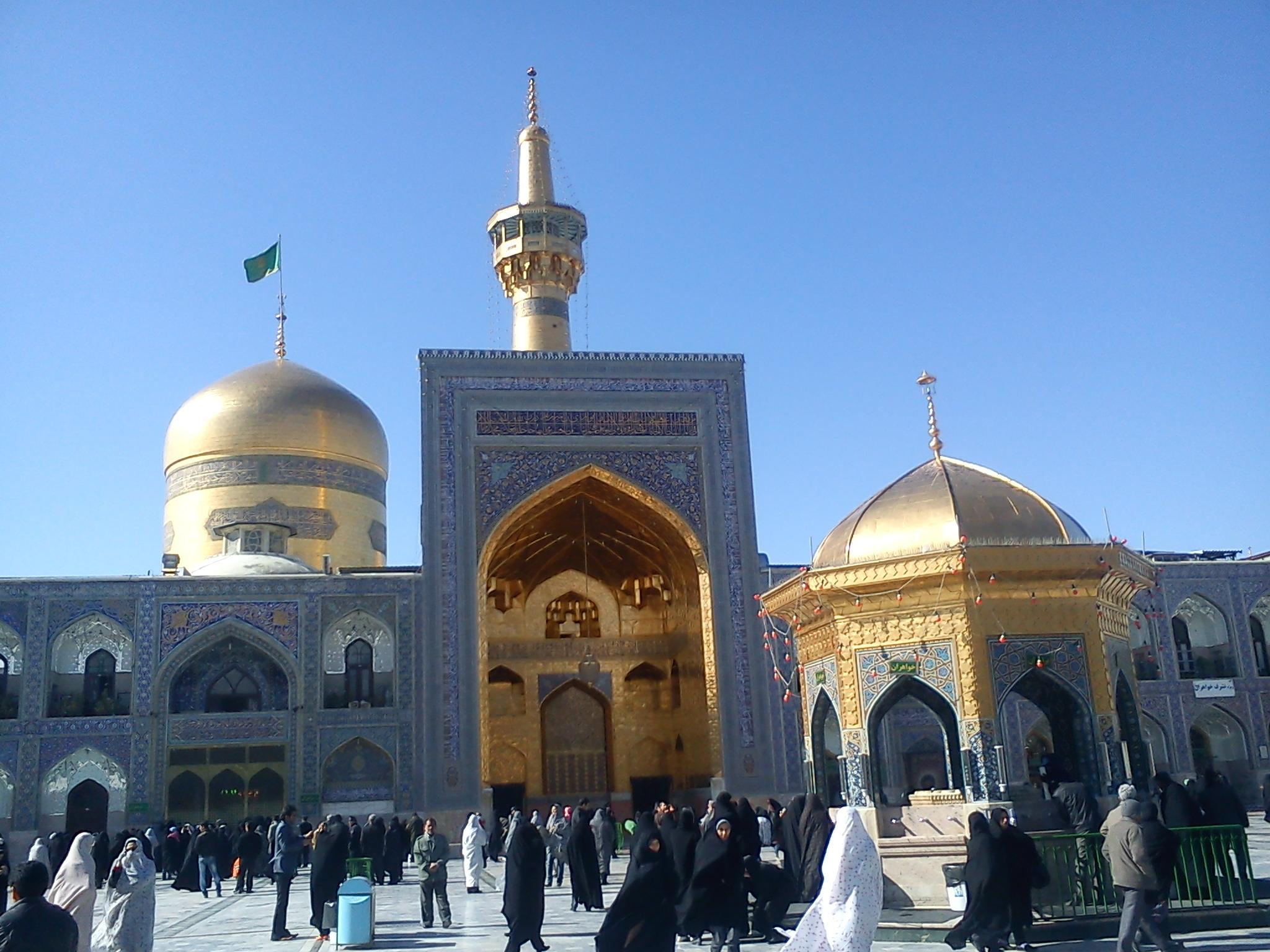 Der Imam-Reza-Schrein in Mesched