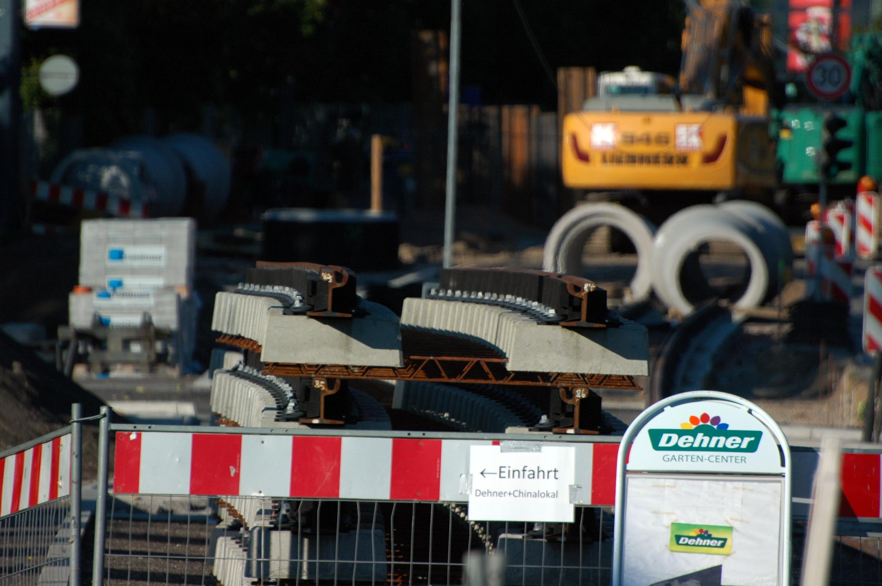 Fileheidelberg Eppelheimer Strasse Umbau Der Gleistrasse 2017