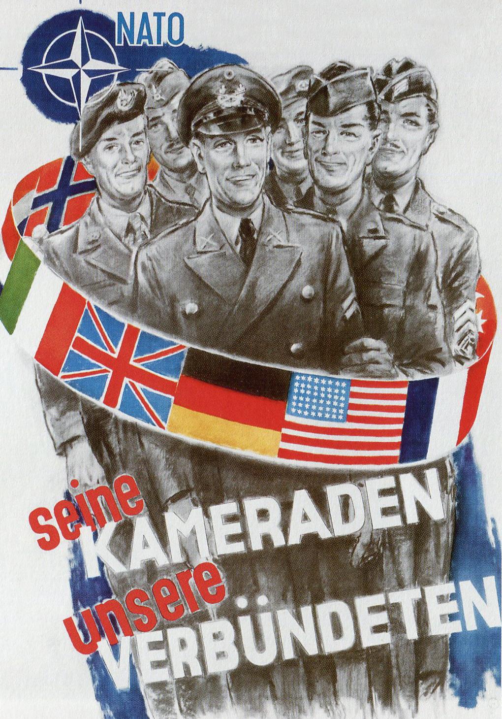 Army propaganda to join the nato