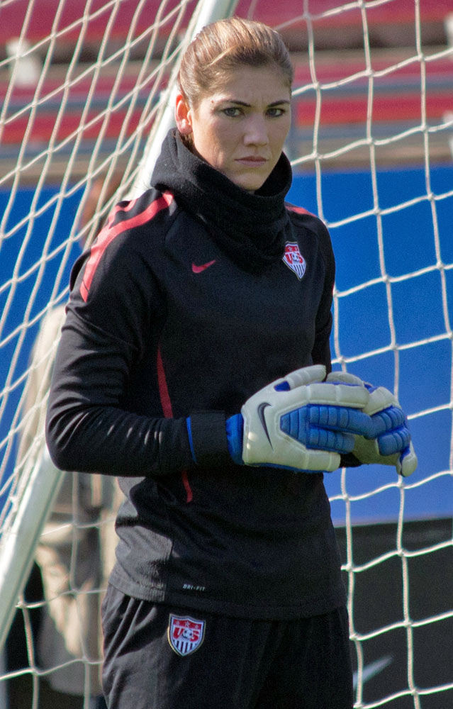 The 37-year old daughter of father Jeffrey Solo and mother Judy Solo Hope Solo in 2018 photo. Hope Solo earned a  million dollar salary - leaving the net worth at 2.5 million in 2018