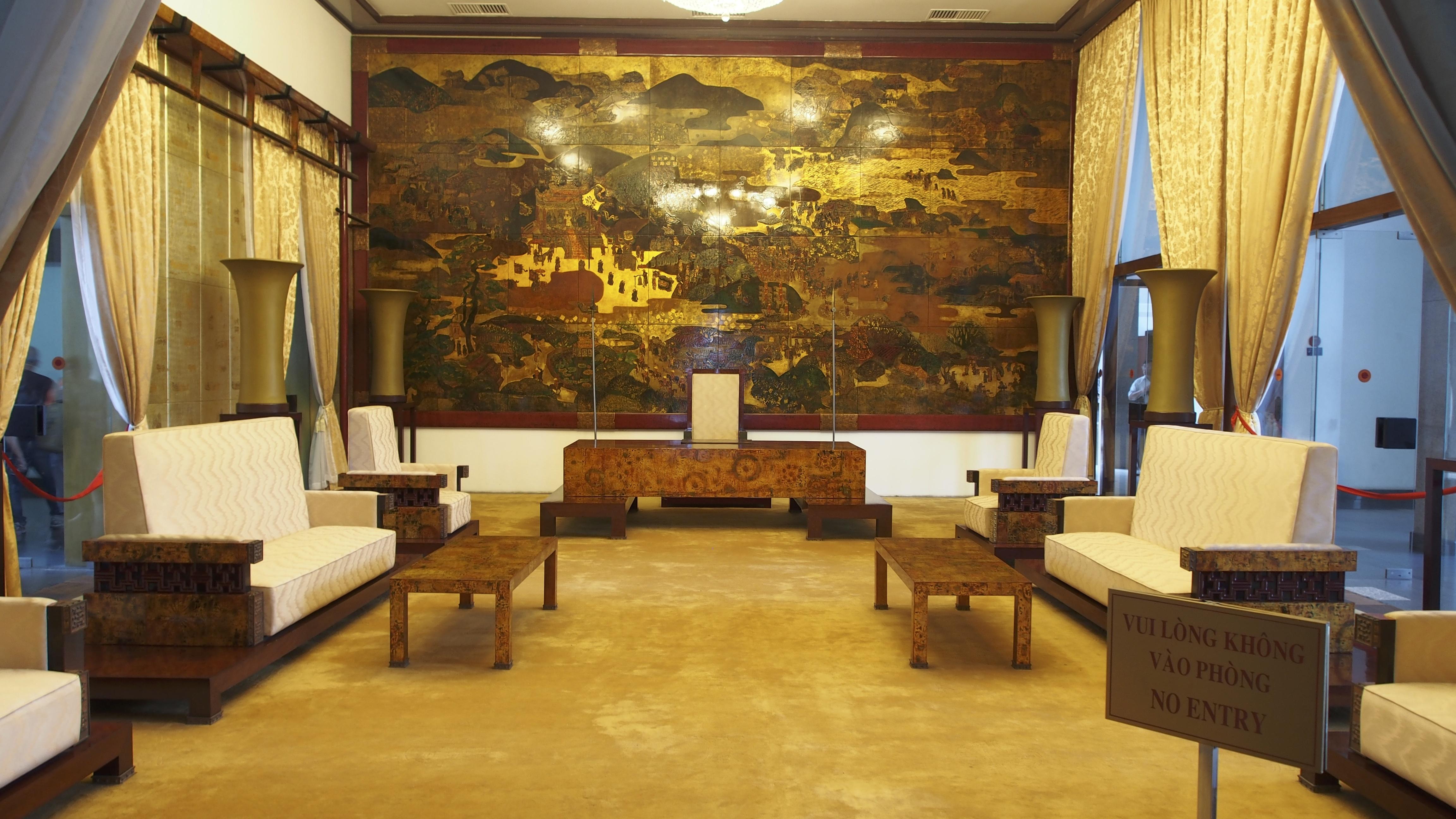 Interior of Reunification Palace
