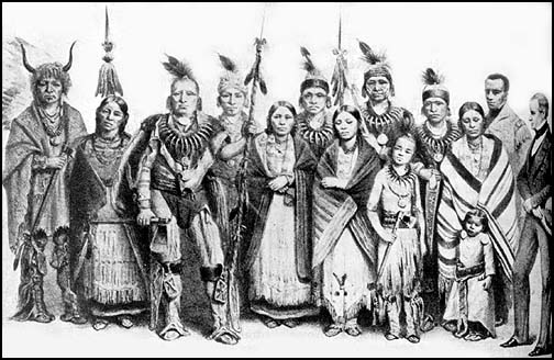 a history of the confrontations between the american natives and the white colonists Just two years after the colonists colonial indian wars like other relations between european settlers and native americans throughout american history.