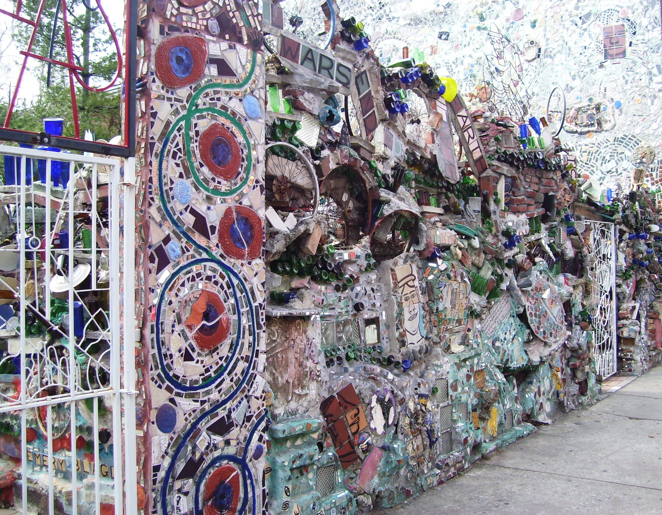 Exceptional File:Isaiah Zagar Magic Gardens 1020 South Street Philadephia Front