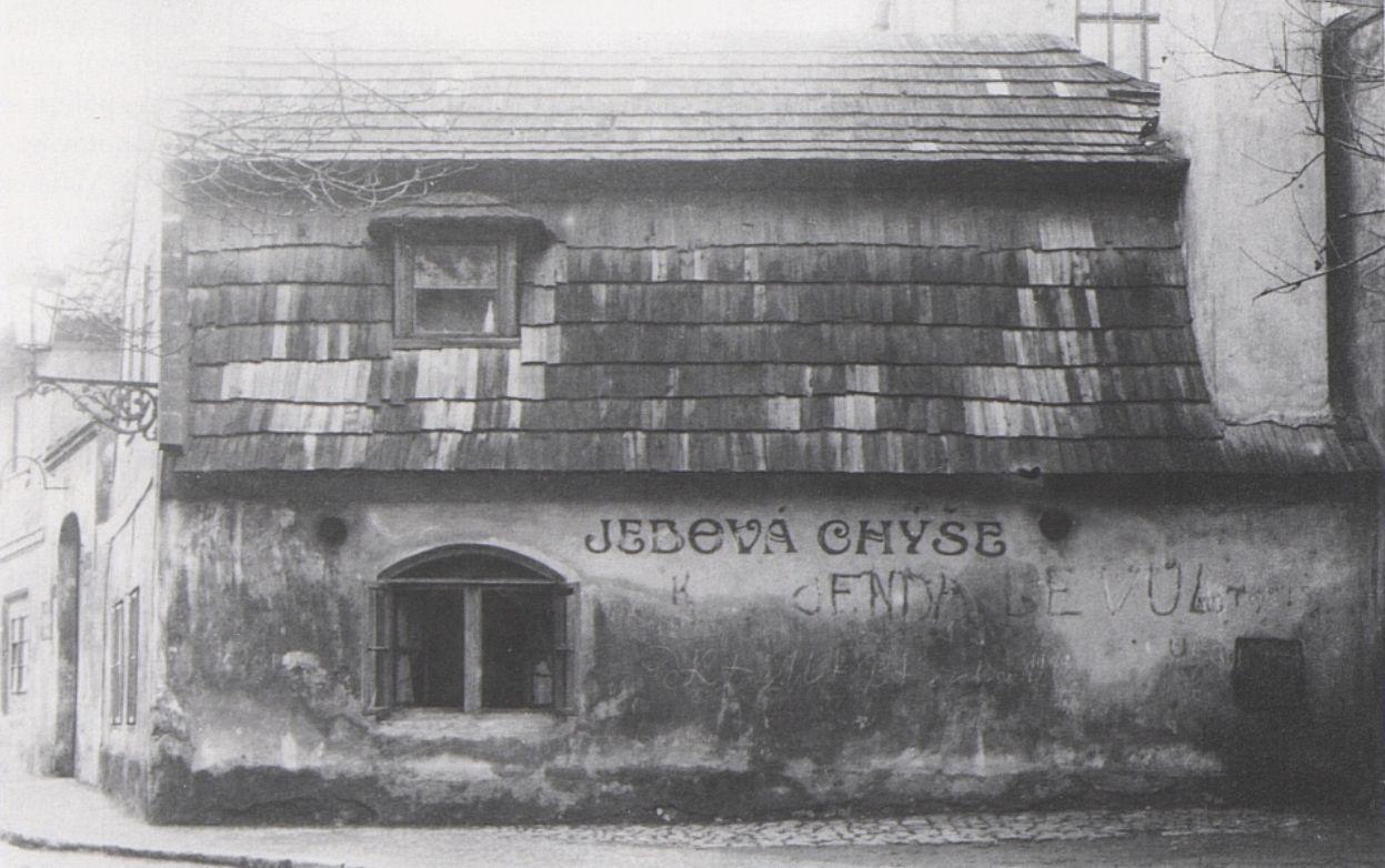 Jedová chýše v roce 1920