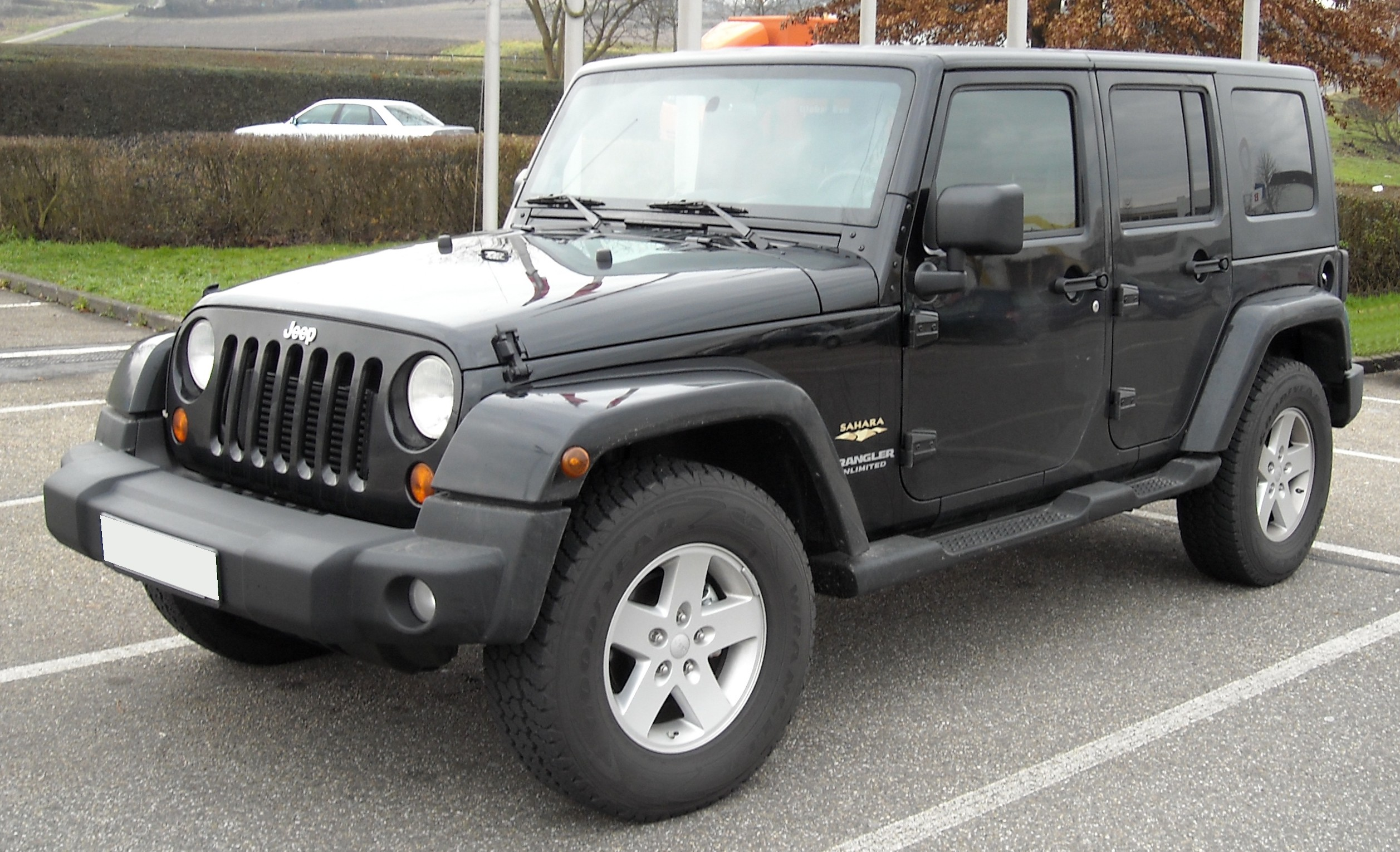 File Jeep Wrangler Unlimited Front 20081213 Jpg