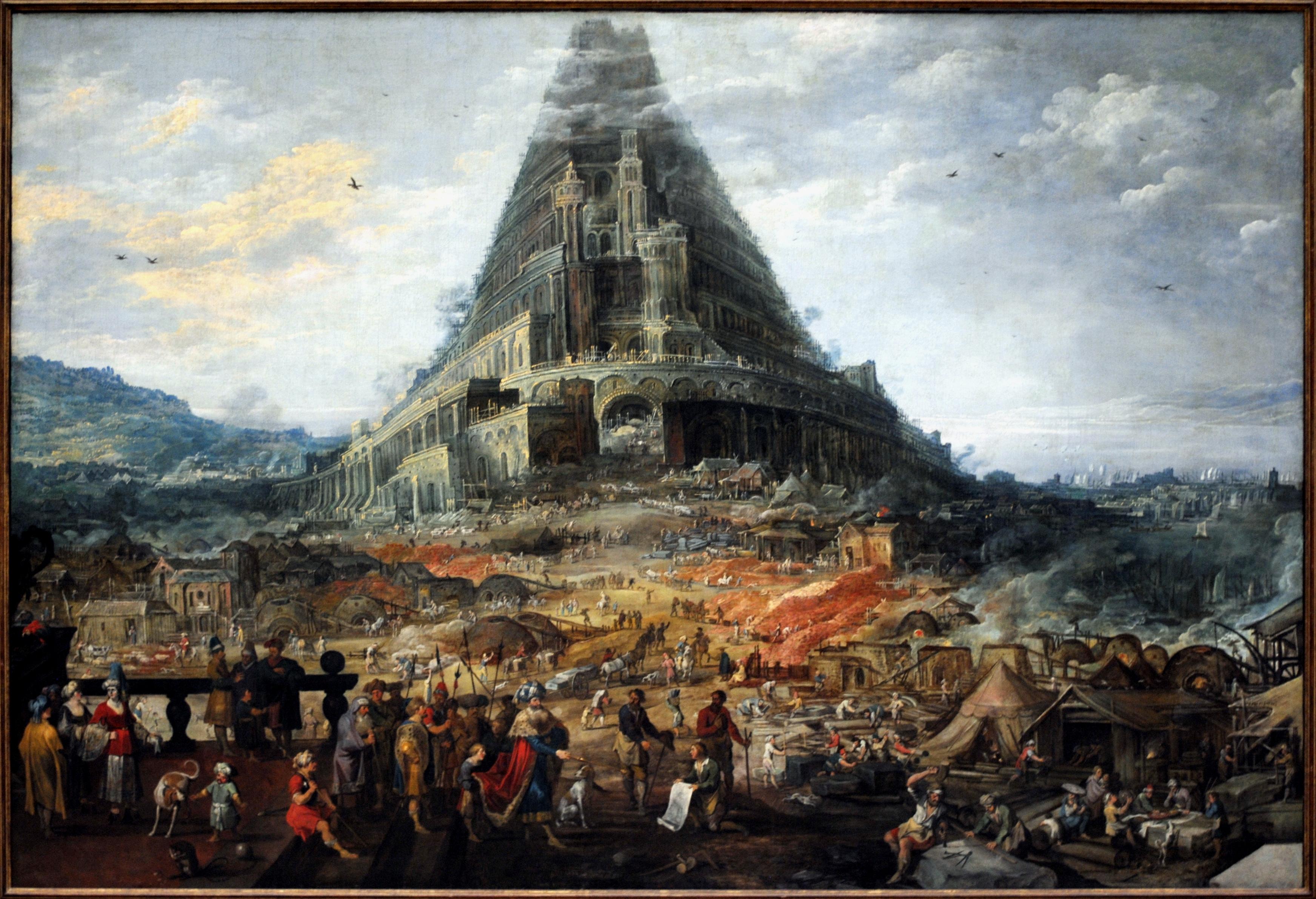 File Joos De Momper La Tour De Babel Jpg Wikimedia Commons