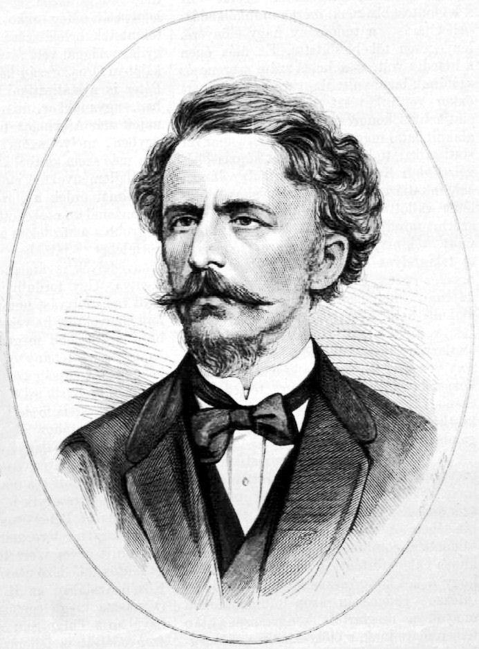 Pollák Zsigmond metszetén, 1876