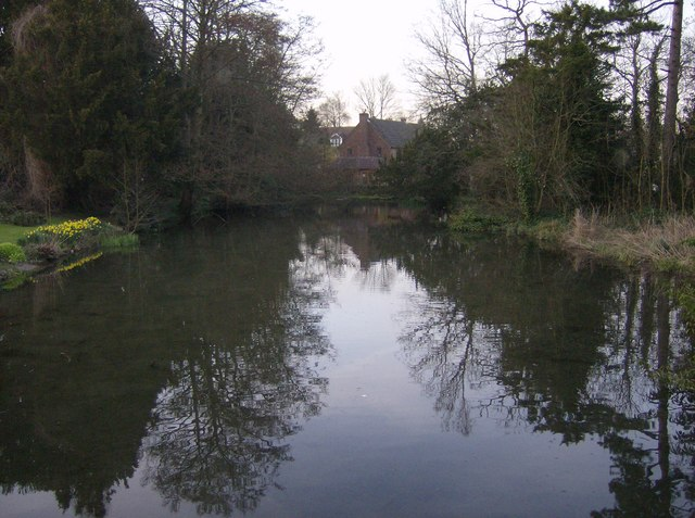 Kingsclere Pond - geograph.org.uk - 360892