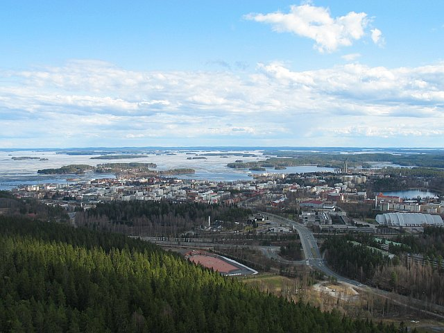 Kuopio, Finland from Puijo tower.jpg