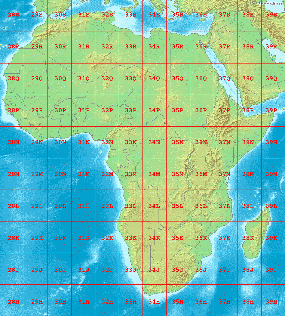 File:LA2 Africa UTM zones.png   Wikimedia Commons