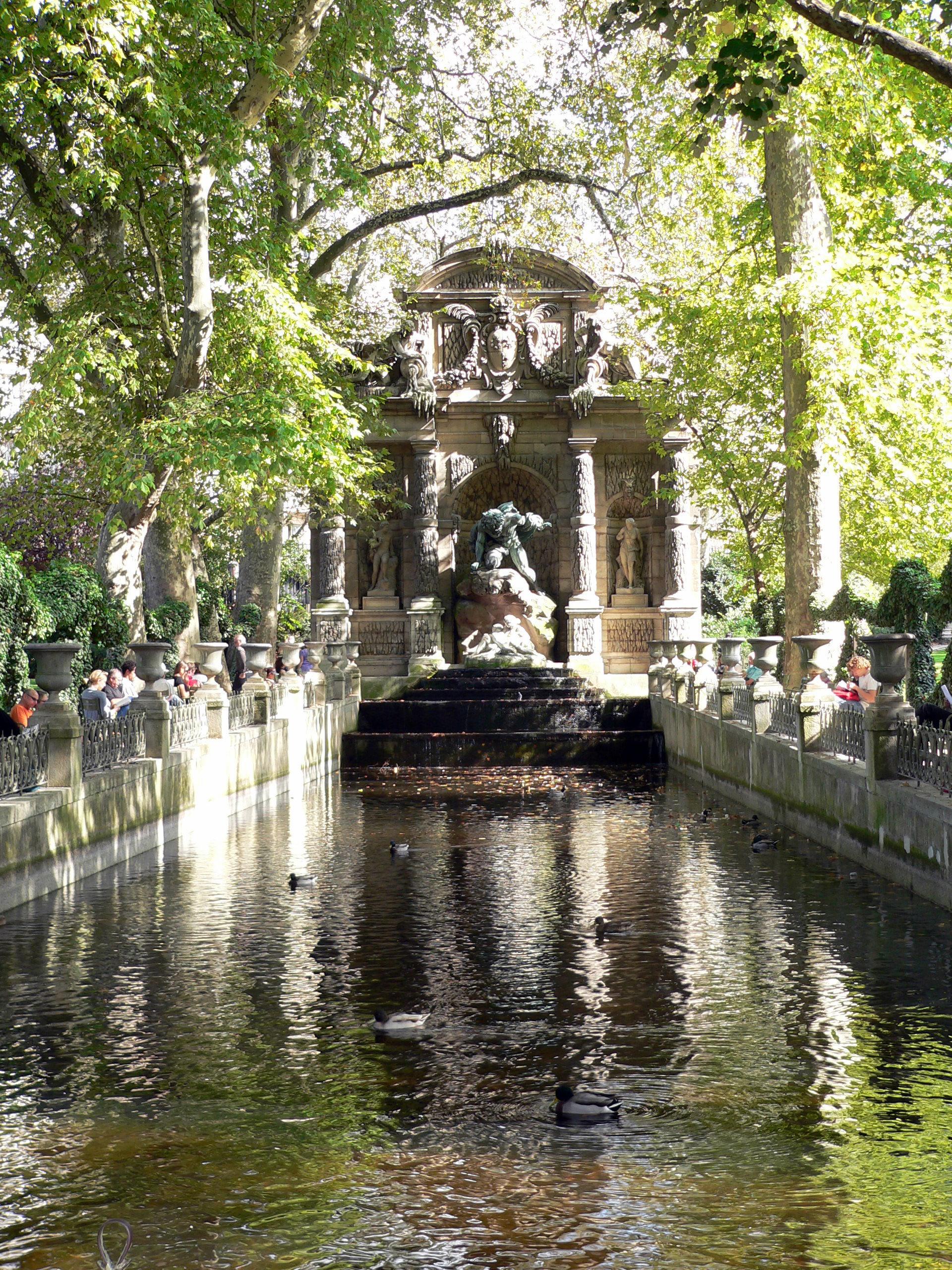 """Résultat de recherche d'images pour """"la fontaine médicis – jardin du luxembourg – 75006"""""""