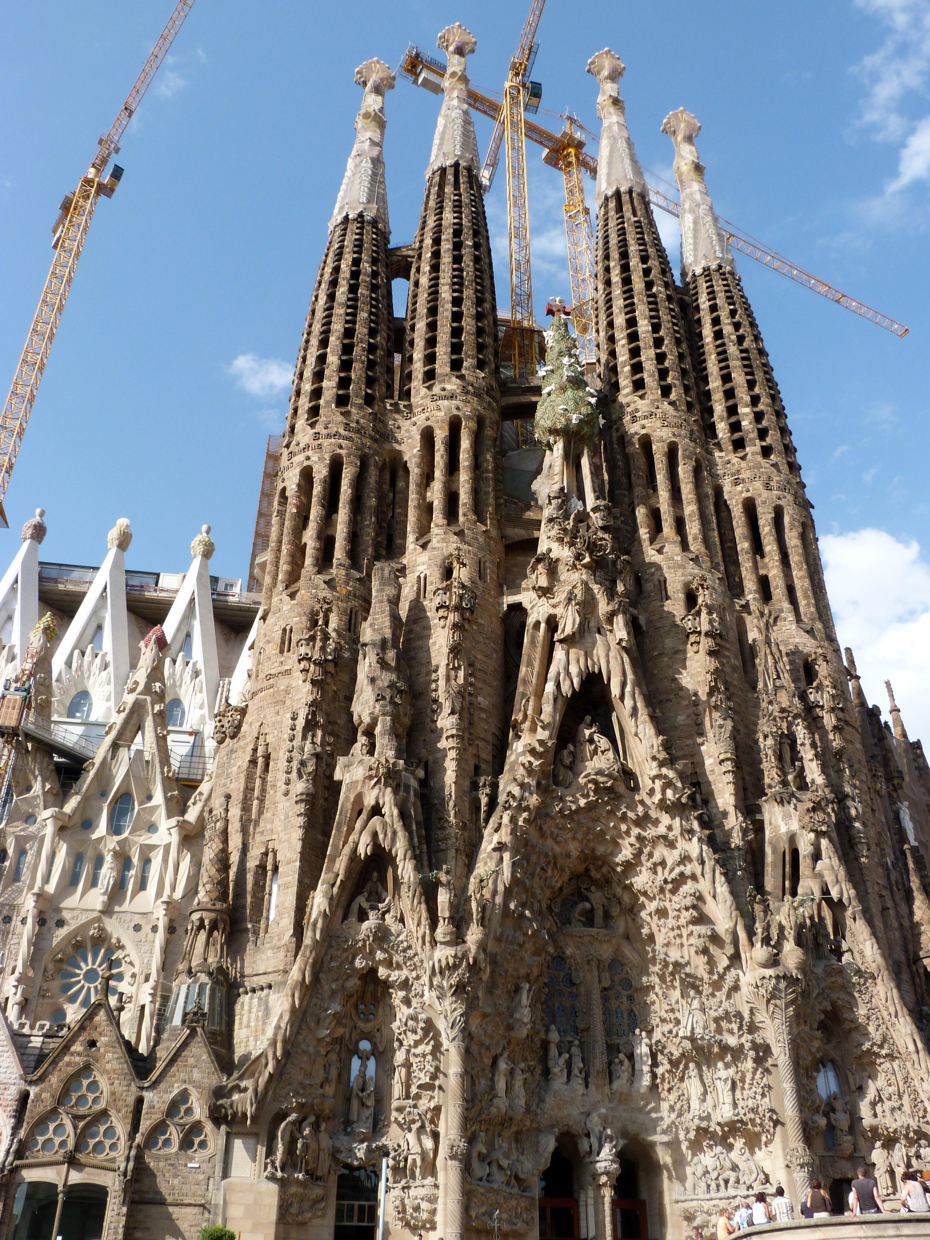 Image gallery lasagradafamilia for De la sagrada familia
