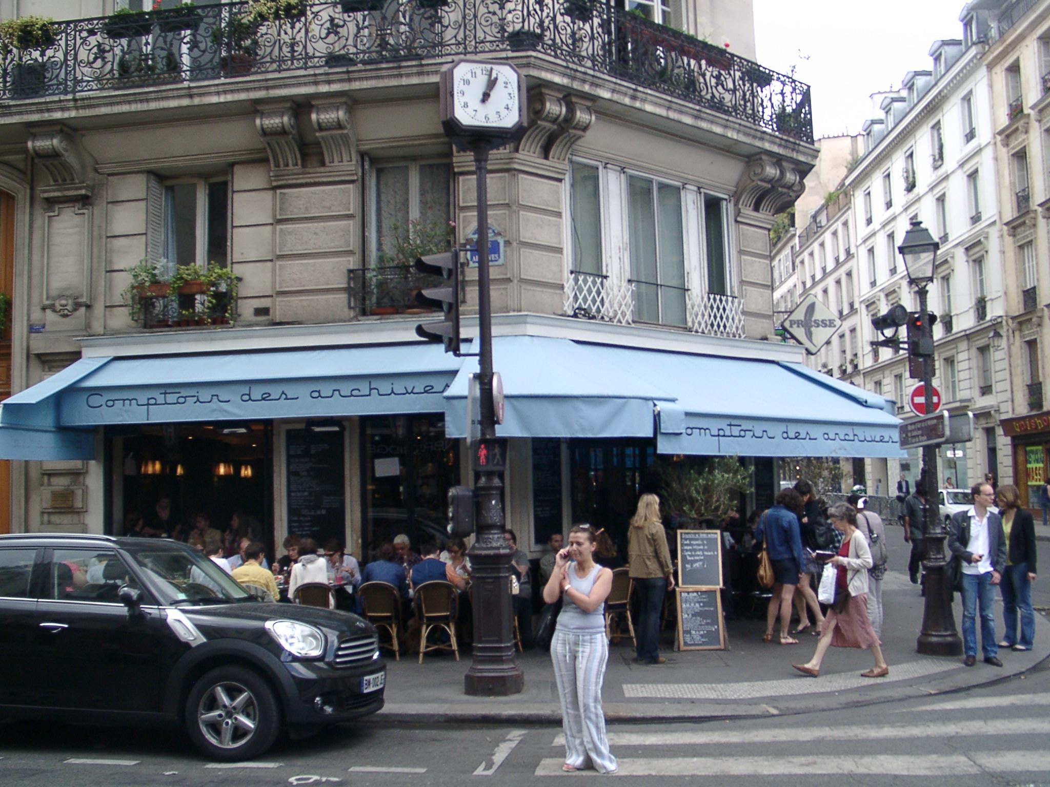 File le comptoir des archives 41 rue des archives paris wikimedia commons - Comptoir des cotonniers paris stores ...