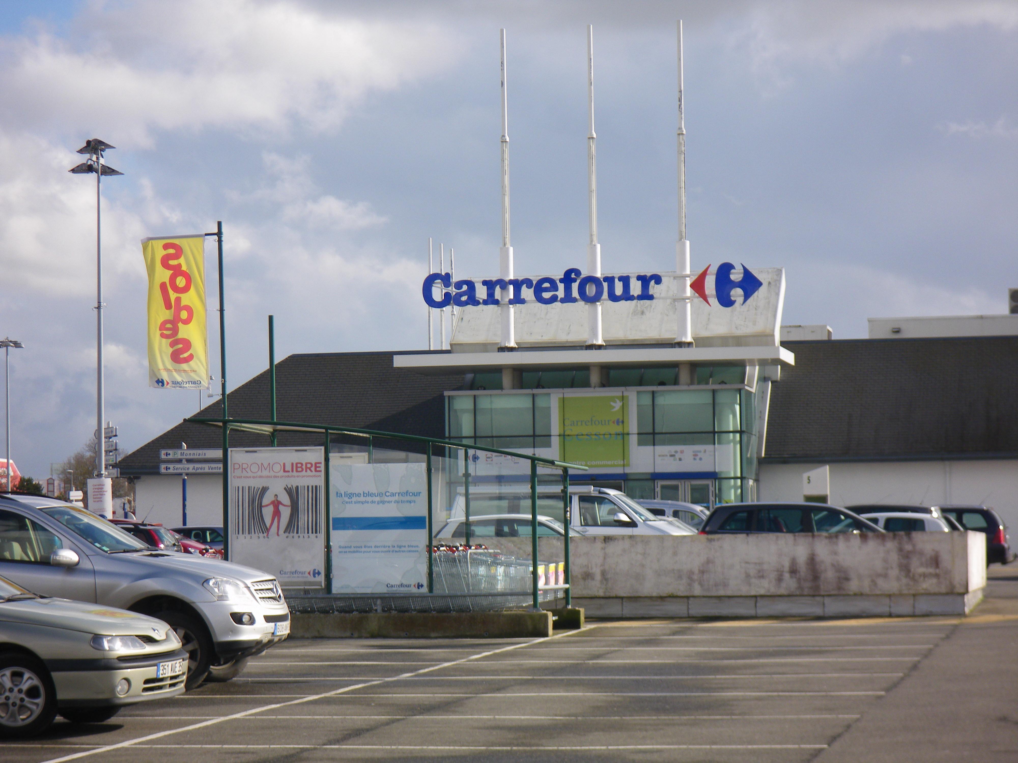 File le centre commercial a cesson sevign - Centre commercial cesson ...