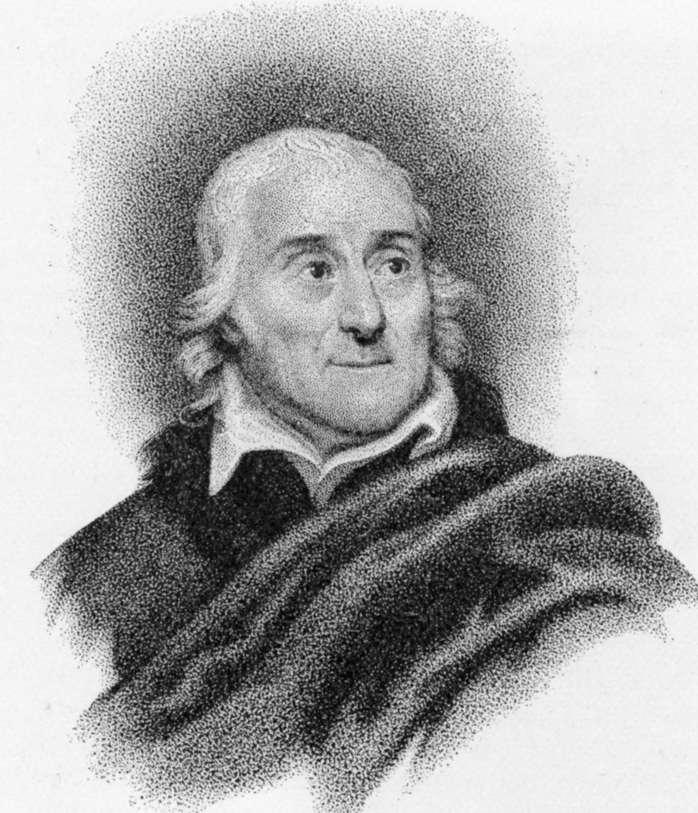 Portrait (engraving) of Lorenzo da Ponte (1749...