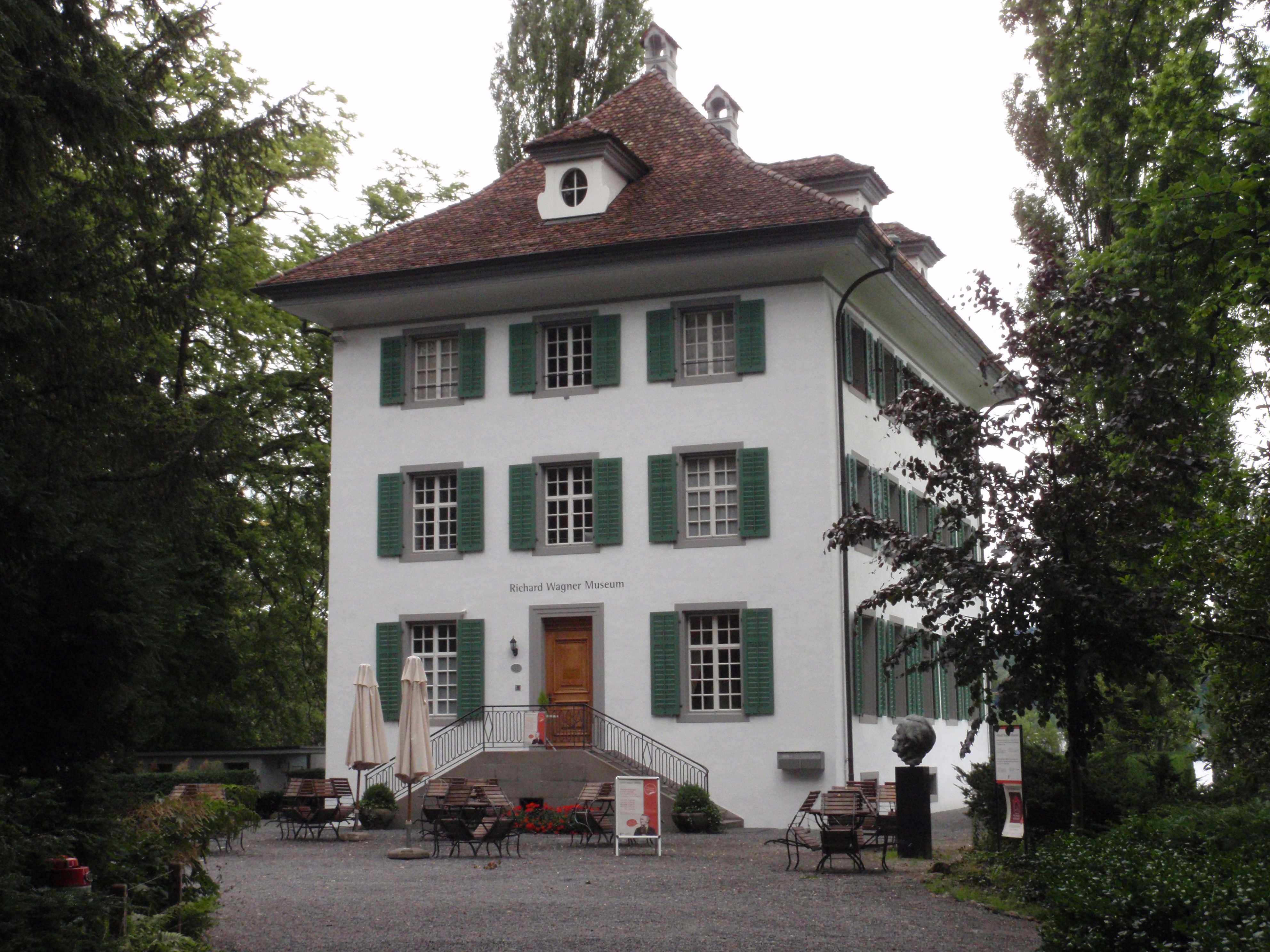 Luzern Landsitz Tribschen aus SW P6190078.JPG