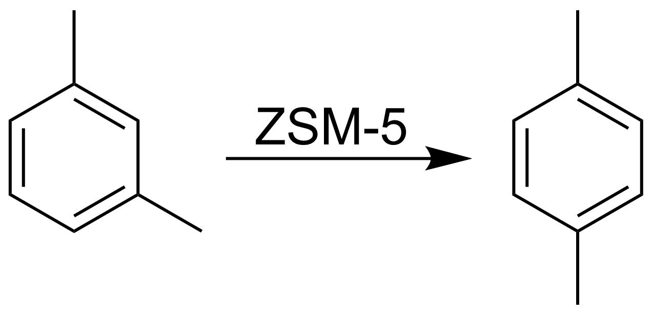 P Xylene Structure File:M-Xylene to p-Xyl...