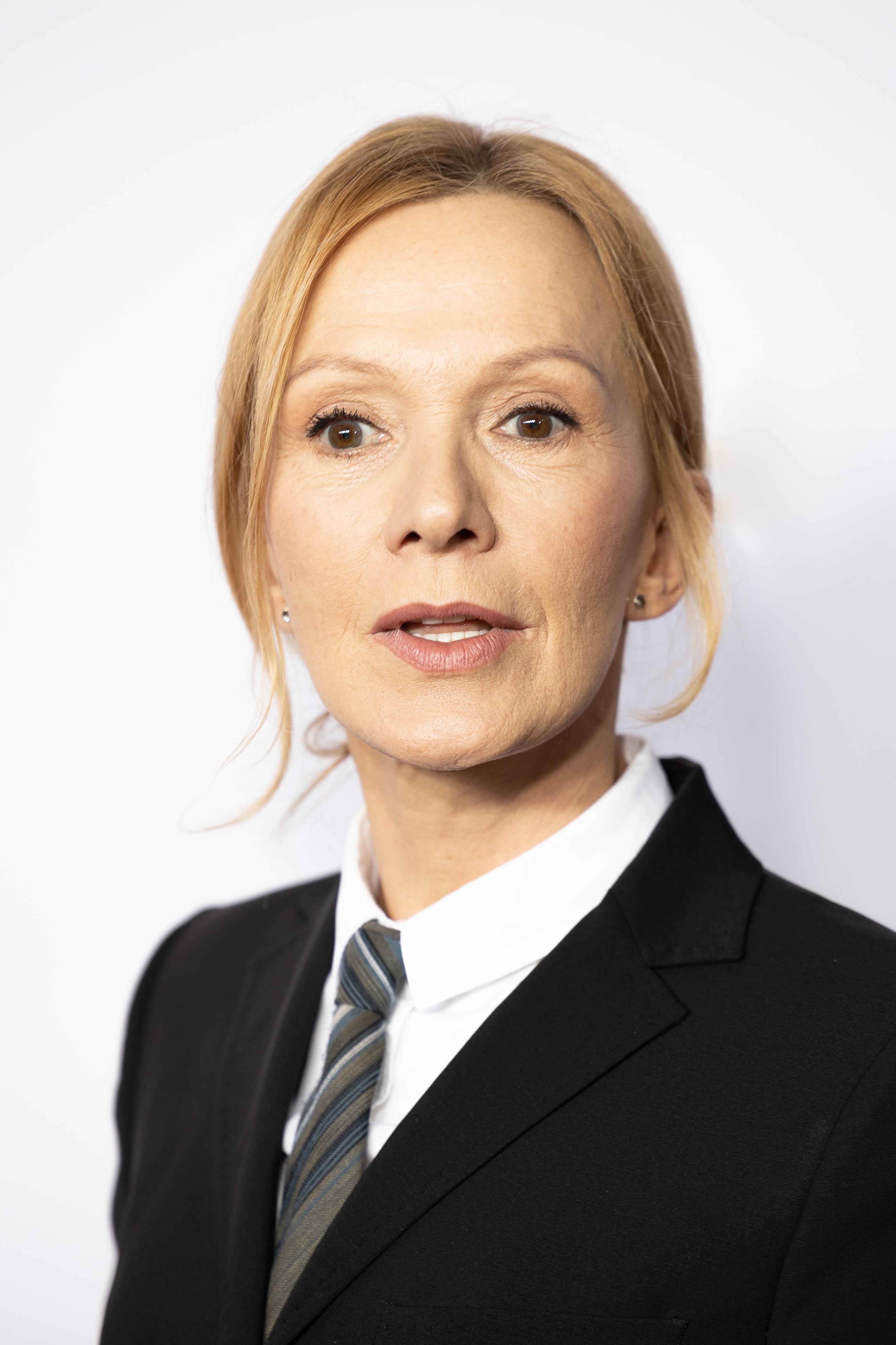 Er 60-år gammel 168 cm høj Katja Flint i 2020