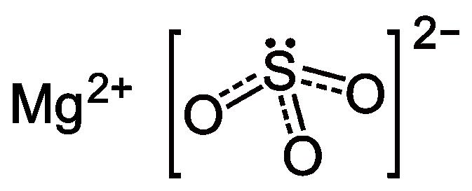 magnesium molmassa