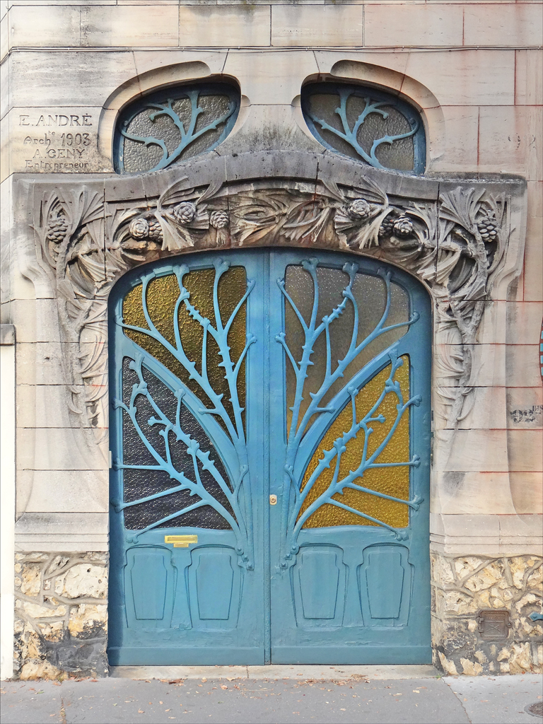 File maison huot de style art nouveau nancy 7965996816 for Decoration maison wikipedia