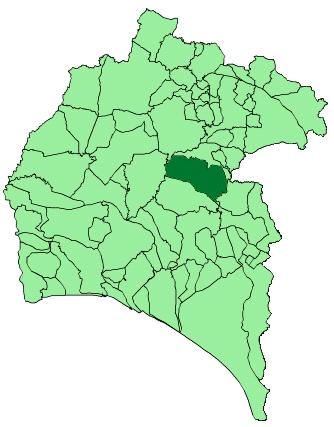 Zalamea La Real Mapa.File Map Of Zalamea La Real Huelva Png Wikipedia