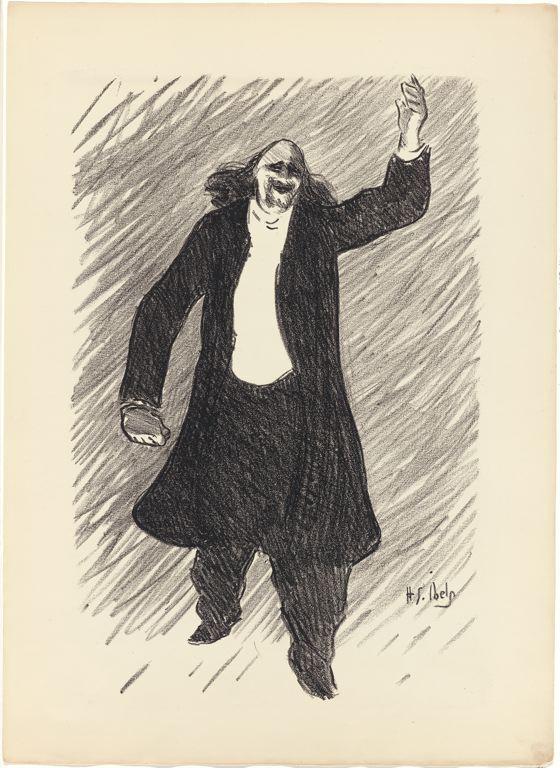 Marcel Legay par Henri-Gabriel Ibels (1893).