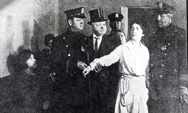 Margaret Sanger's arrest at Brownsville Clinic