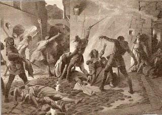 Matanza de judíos en Barcelona - año 1391.jpg