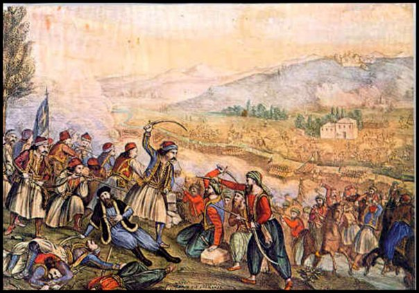 """OTD in 1821 Diakos was impaled after refusing conversion to Islam: """"I will die Greek"""" 1"""