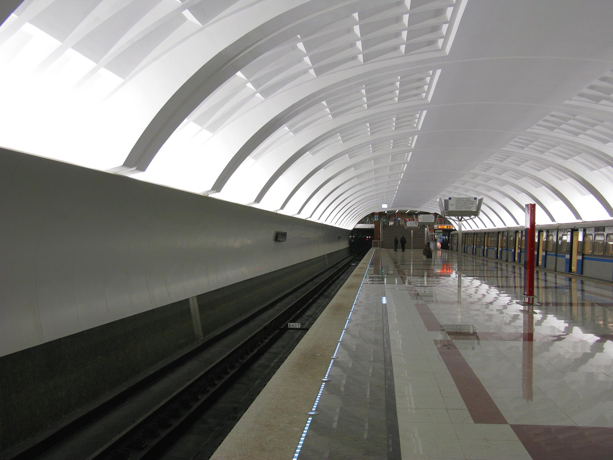 Metro Mitino. How to get to the subway Mitino (Moscow) 13