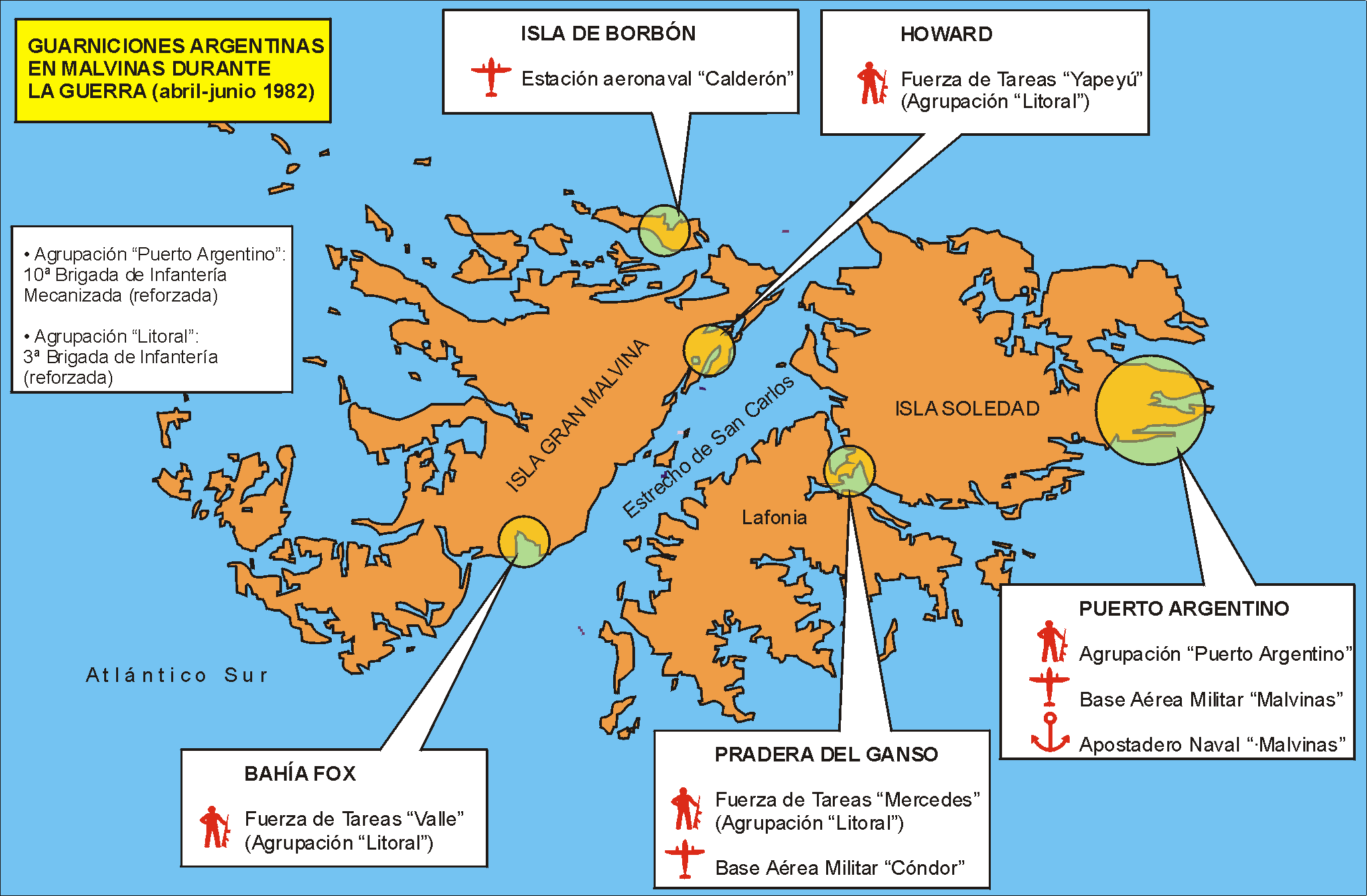 HMS Invincible and the Malvinas War in 1982 Mlv_guarn_arg