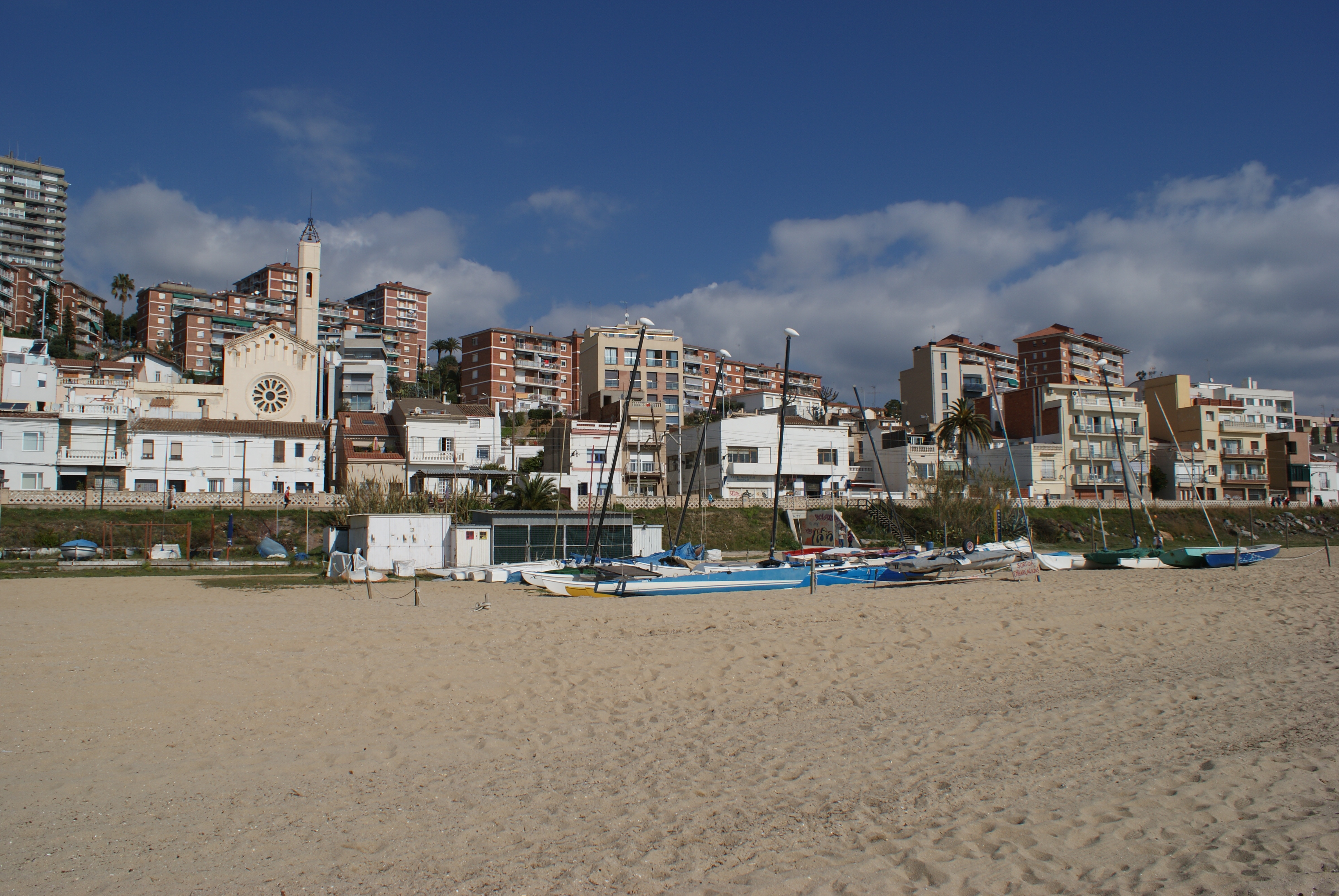 File:Montgat Beach.jpg