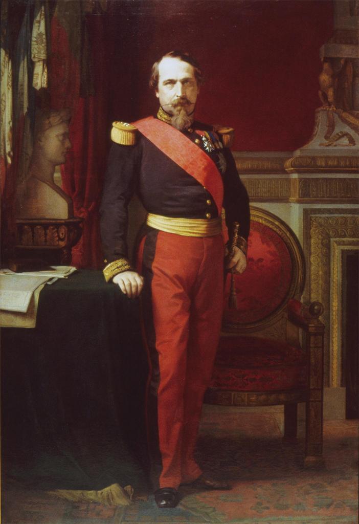 Napoléon III - Victor Hugo Napoleon_III_Flandrin