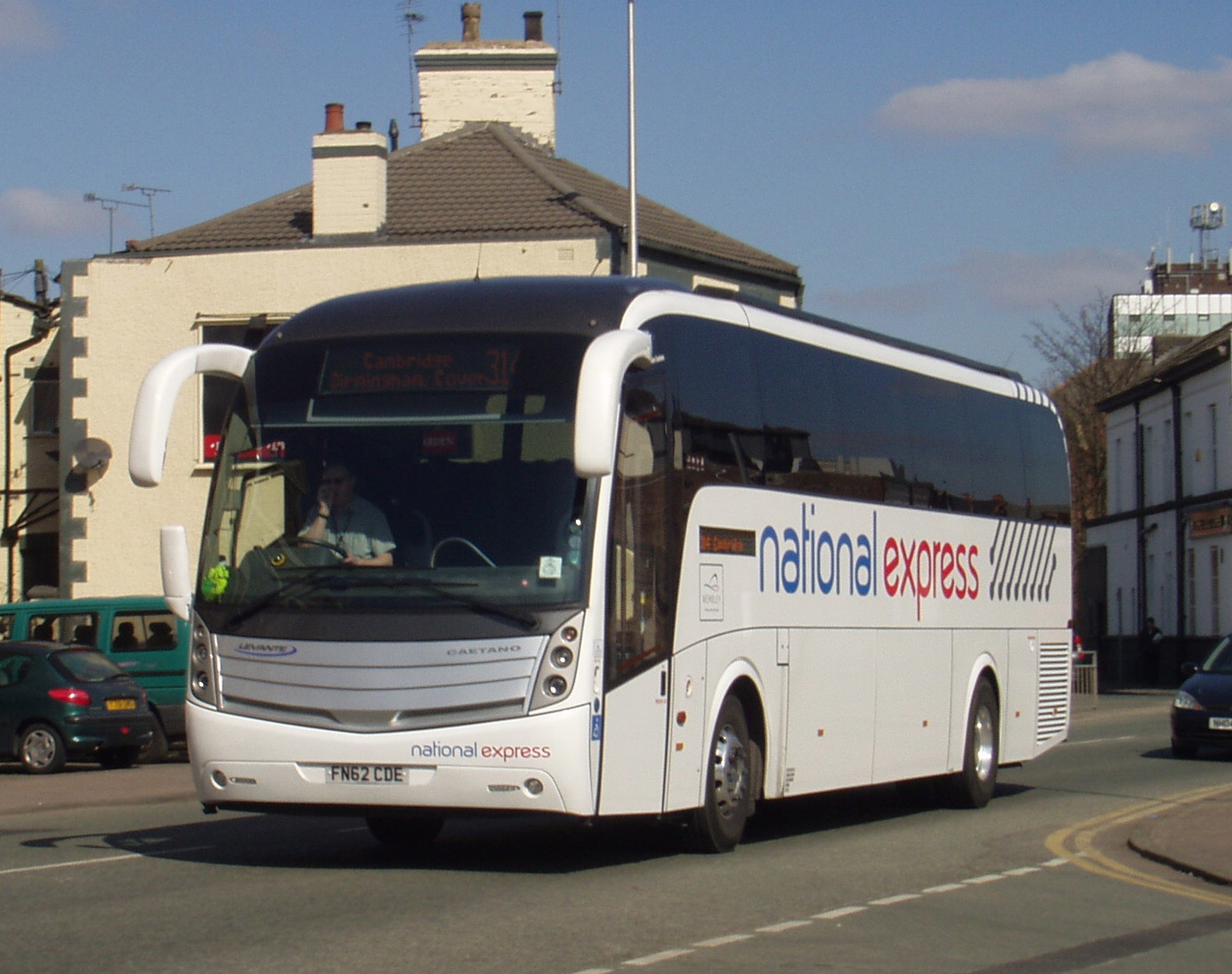 Travel for $9 one way on the national express this autumn